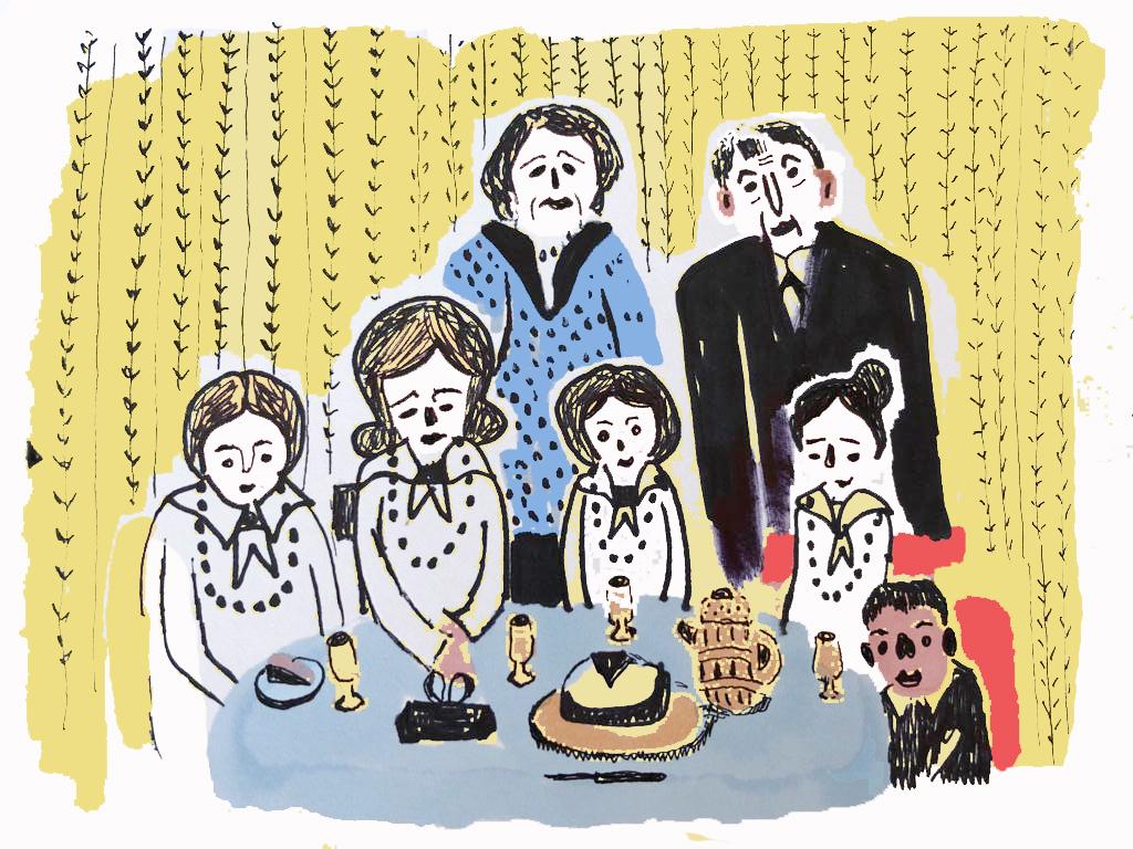 משפחת קרבלניק-החיים שהיו-עמית טריינין- באתר-מוזיאון יפו