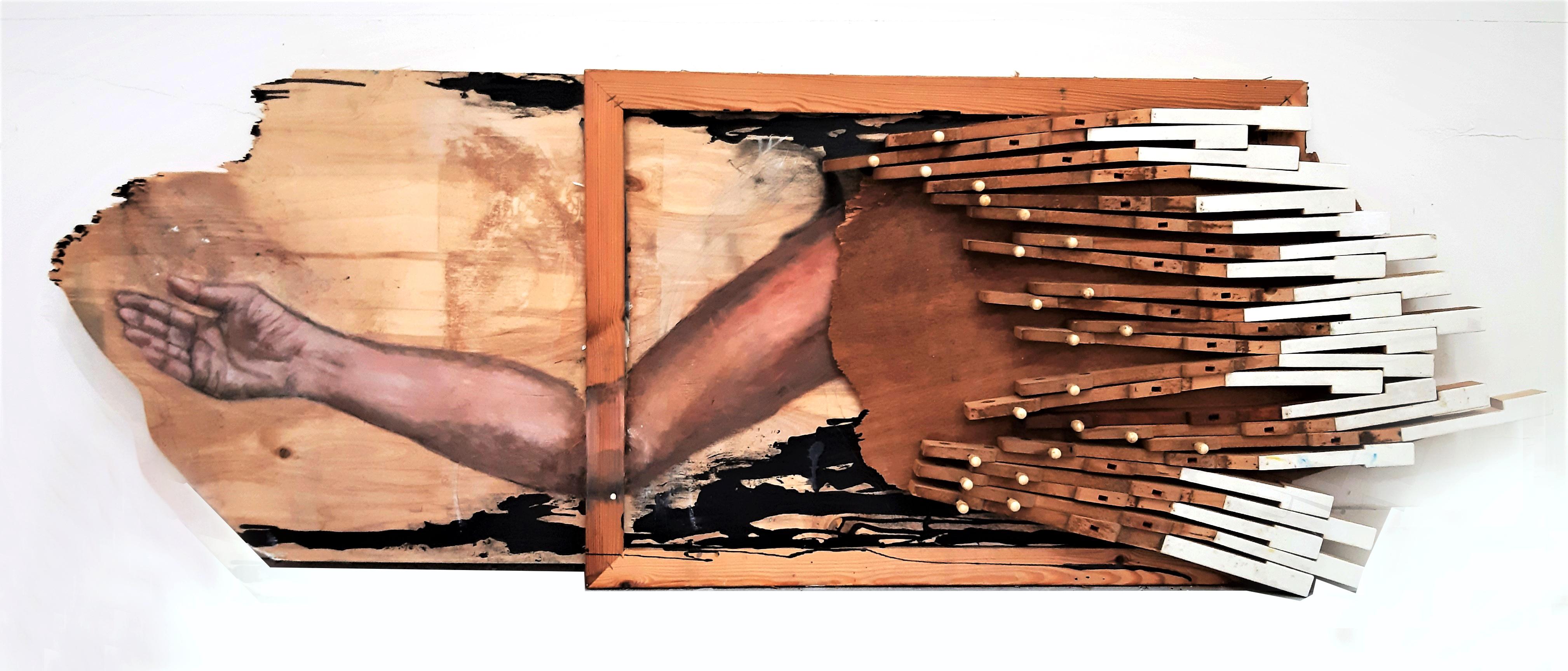 אסתי דרורי חיות,1.35-50,טכניקה מעורבת על עץ2 (1)